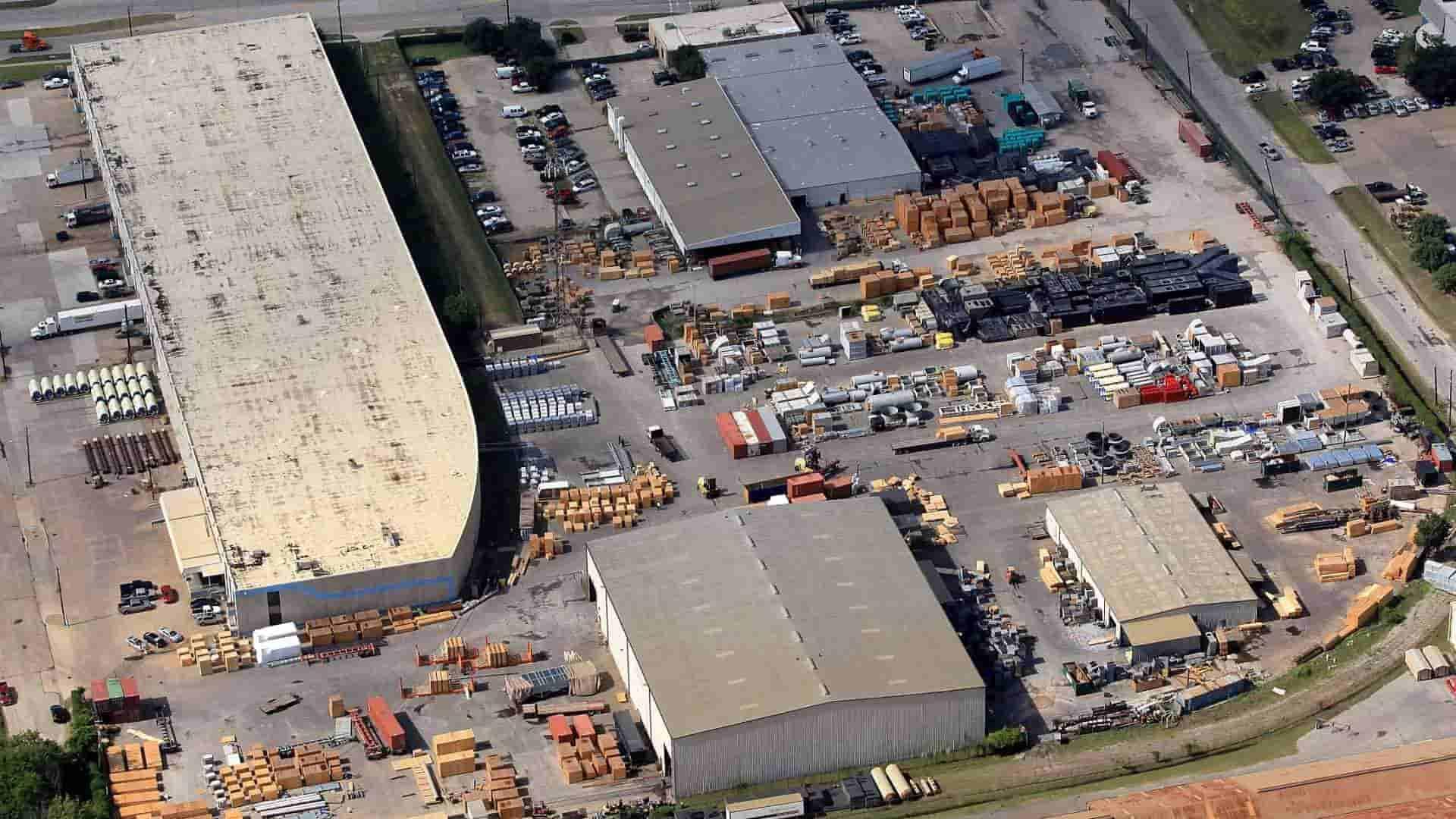 Houston Export Packing Warehousing and Laydown Yard