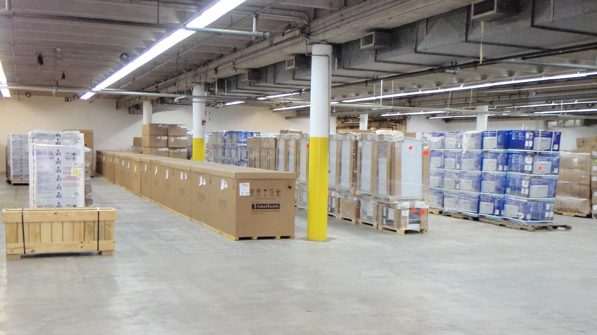 Miami Florida Packing and Crating Warehouse