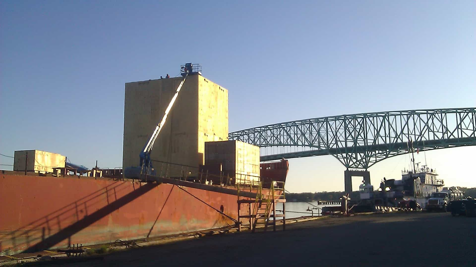 Santini Onsite Packing Jacksonville Barge