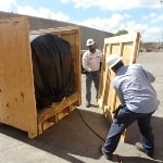 export packing crating cases boxes skidding
